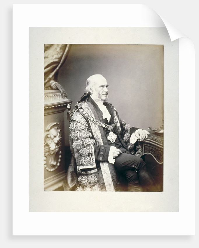Thomas Gabriel, Lord Mayor of London by Anonymous