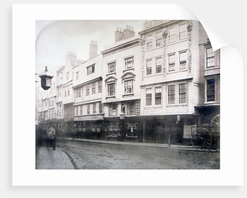 South side of Aldgate (street), showing nos 6-9, City of London by Anonymous
