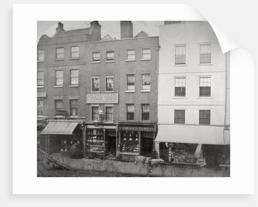 Aldgate High Street, City of London by Anonymous