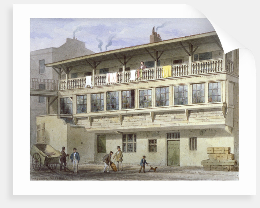 The White Bear Inn on Piccadilly, Westminster, London by