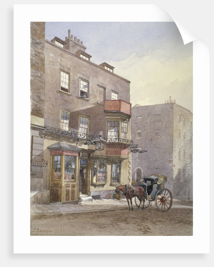 The Cheshire Cheese Tavern, Surrey Street, Westminster, London by