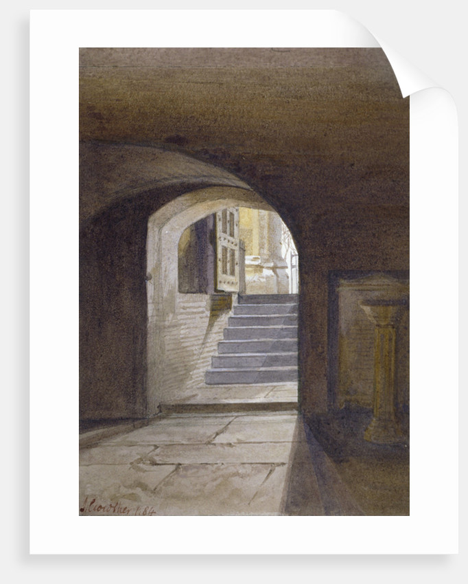 View of the Chapel of St Peter ad Vincula in the Tower of London by John Crowther