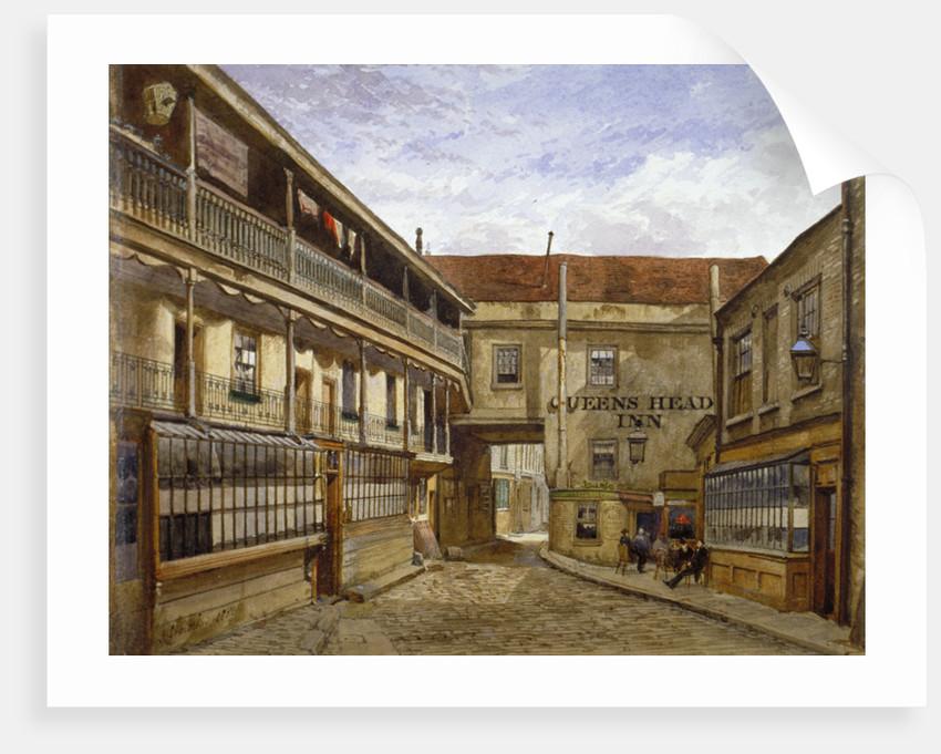 The Queen's Head Inn, Borough High Street, Southwark, London by John Crowther