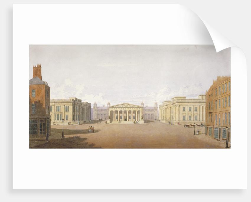Trafalgar Square, Westminster, London by John Nash