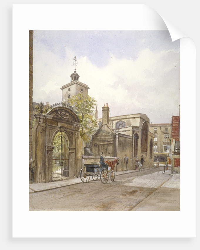 Church of St Olave, Hart Street, City of London by John Crowther