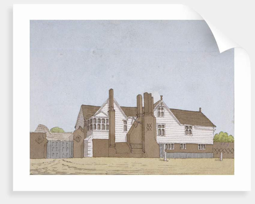 View of Hyde House in Plaistow, Newham, London by Anonymous