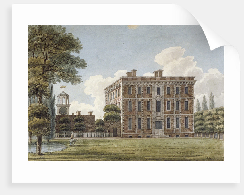 Rear view of Silver Hall, Twickenham Road, Isleworth, Middlesex by Anonymous