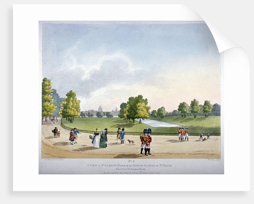 St James's Park, Westminster, London by