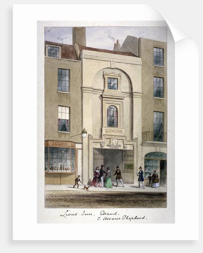 Lyon's Inn, Strand, Westminster, London by