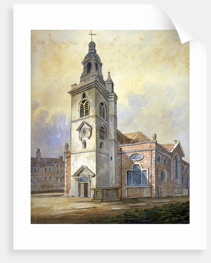 Church of St Mary, Whitechapel, London by William Pearson