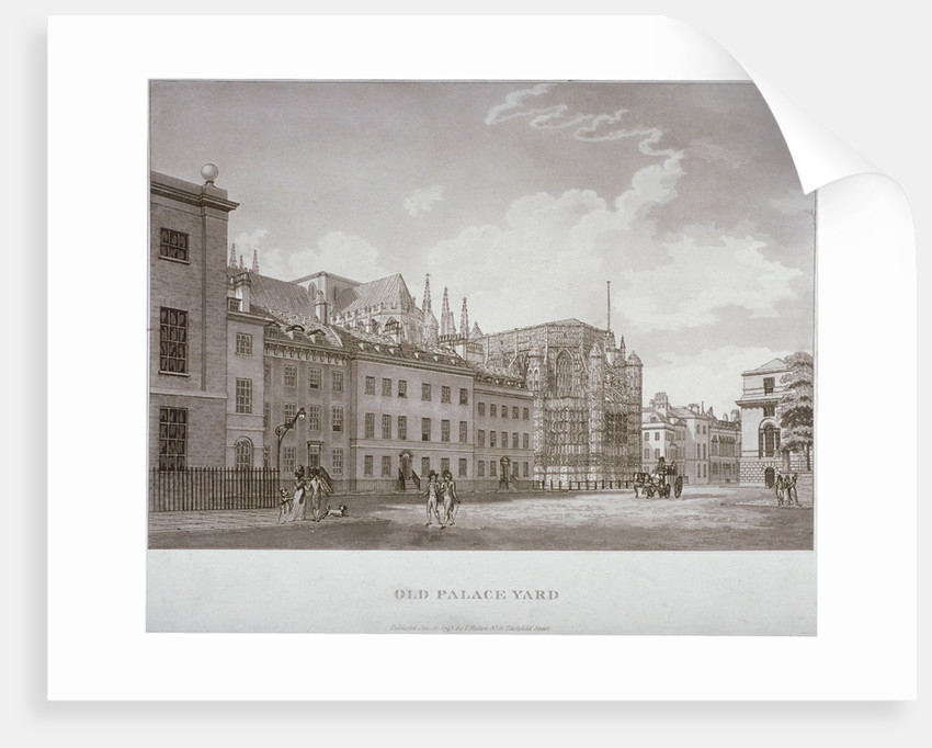 Old Palace Yard, Westminster, London by