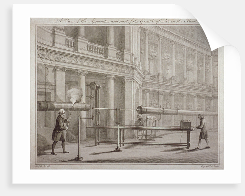 The Pantheon, Oxford Street, Westminster, London by James Basire I