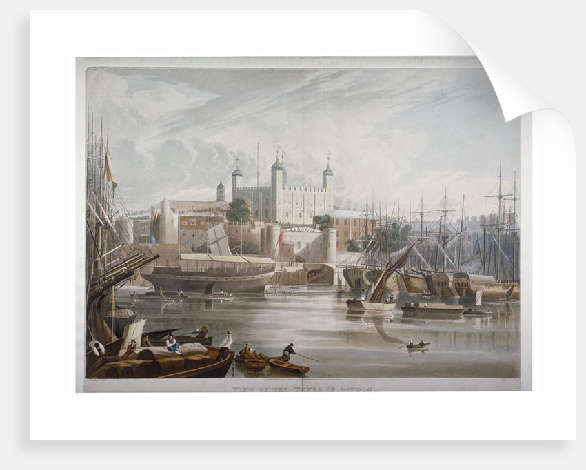 Tower of London by Daniel Havell