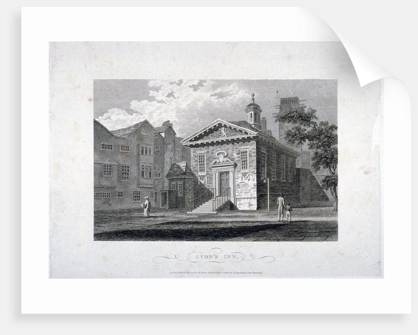 Lyon's Inn, Westminster, London by