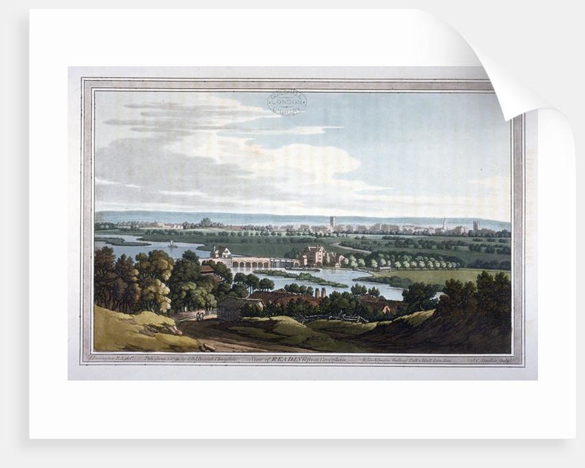 View of Reading from Caversham, Berkshire by Joseph Constantine Stadler