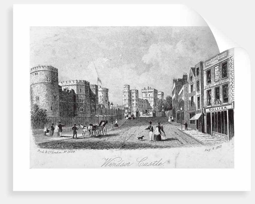 Windsor Castle, Berkshire by Anonymous