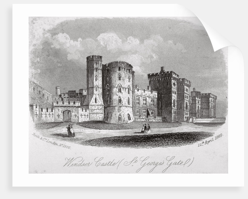 St George's Gate, Windsor Castle, Berkshire by Anonymous