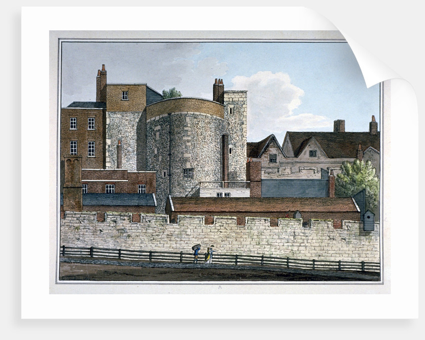 Beauchamp Tower, Tower of London by Charles Tomkins