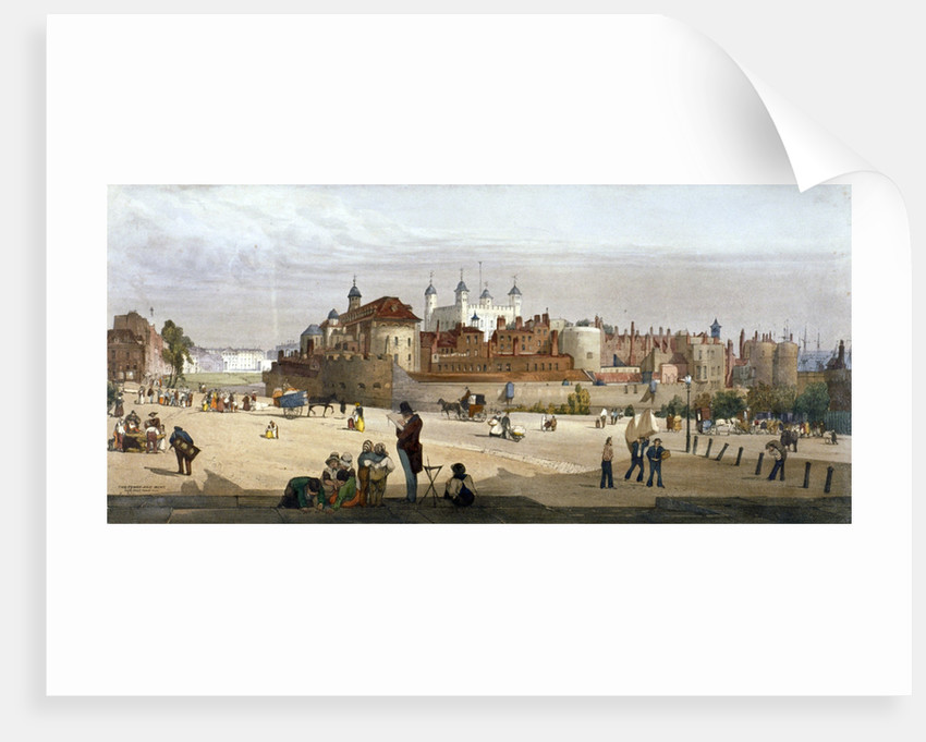Tower of London by Thomas Shotter Boys