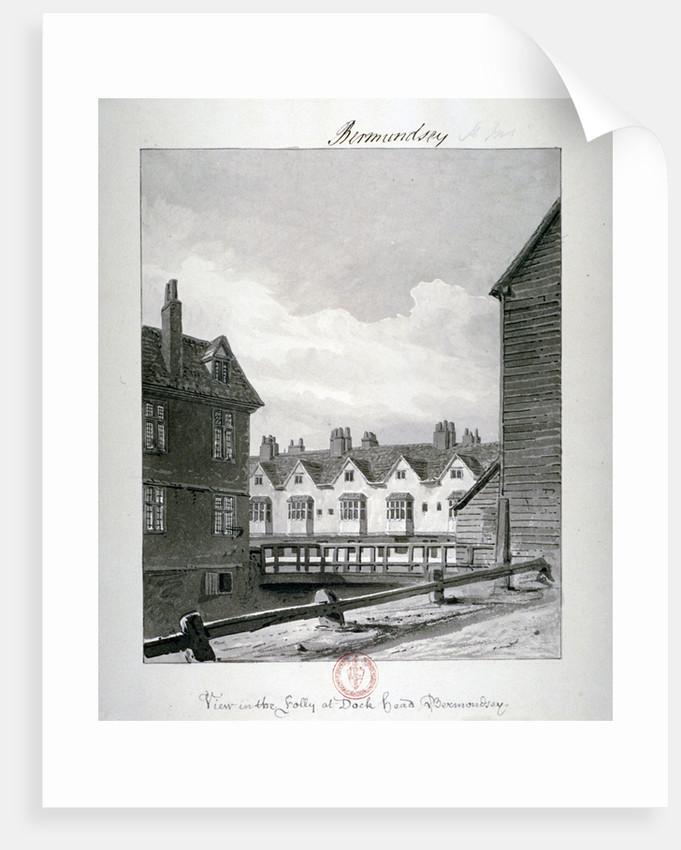 Dockhead Folly, Bermondsey, London by John Chessell Buckler