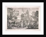 The humours and diversions of Southwark Fair, London by Anonymous