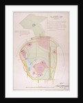 Plan of Regent's Park by Anonymous