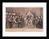 King Henry VIII surrounded by kneeling figures by Bernard Baron