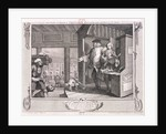 The industrious apprentice a favourite..., plate IV of Industry and Idleness by William Hogarth