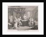 Marriage a la Mode; plate III by