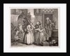 Innocence betrayed, or the journey to London, plate I of The Harlot's Progress by William Hogarth