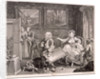 In high keeping by a Jew, plate II of The Harlot's Progress by William Hogarth