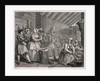 In Bridewell beating hemp, plate IV of The Harlot's Progress by
