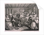 Her funerall properly attended, plate VI of The Harlot's Progress by