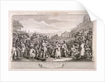 The idle 'prentice executed at Tyburn', plate XI of Industry and Idleness by