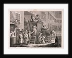 The stage-coach or the country inn yard by William Hogarth