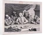 Columbus breaking the egg by William Hogarth