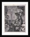 The sleeping congregation by William Hogarth