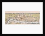 Map of London, c1563 by
