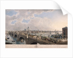 City of London from the South by