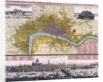 Map of the City of London by
