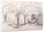 Crypt of St Mary-le-Bow by Frederick Nash
