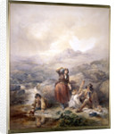 The Shepherd's Meal by Francis William Topham