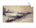Landscape with Horse and Cart by Sir John Gilbert