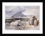 Criccieth, Wales by Sir John Gilbert