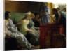 The Wine Shop by Sir Lawrence Alma-Tadema