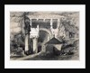 Karli, Entrance of Great Chaitya Cave by John Weale