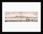 View of London from the south by Hugue Picart