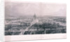 Panoramic view of London by James Tibbitts Willmore