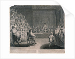 Trial of King Charles I, Palace of Westminster by