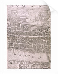 Map of London, 1560 by